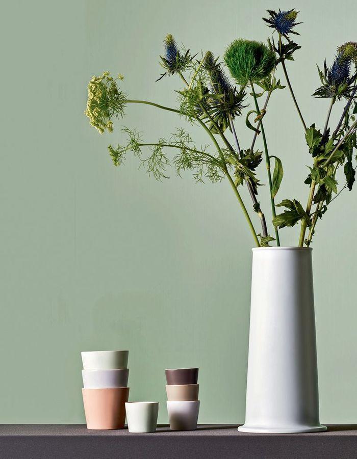 Mini-tasses en céramique Alessi