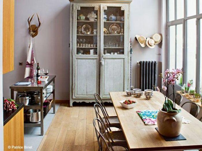Cuisine campagne d couvrez toutes nos inspirations elle d coration - Cuisine atelier artiste ...