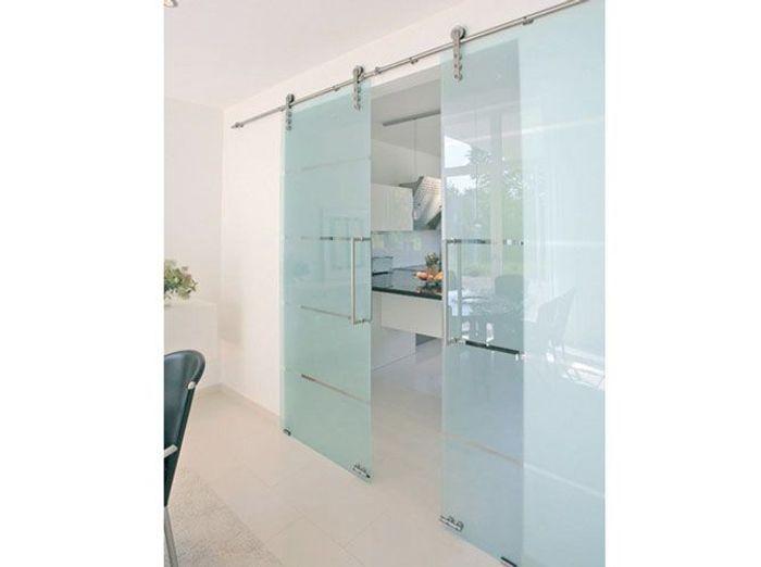 Une cloison vitr e et coulissante pour ma cuisine elle for Porte coulissante pour cuisine