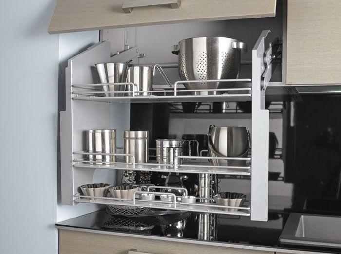 Deco etagere cuisine cuisine rglisse par les plus for Etagere de cuisine en palette