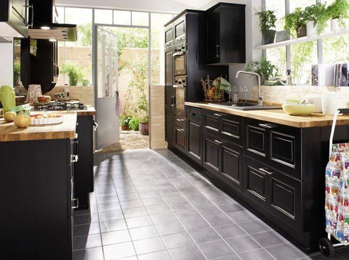 cuisines lapeyre choisies par fr d ric anton elle d coration. Black Bedroom Furniture Sets. Home Design Ideas