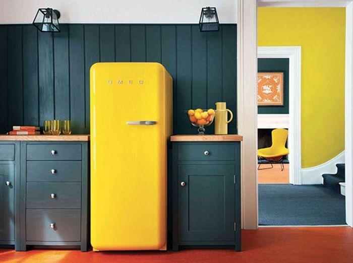 votre r frig rateur est il bien int gr dans votre cuisine elle d coration. Black Bedroom Furniture Sets. Home Design Ideas