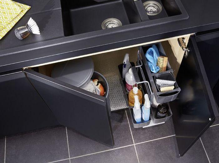 Rangement intrieur placard cuisine salle de bains for Rangement de placard de cuisine