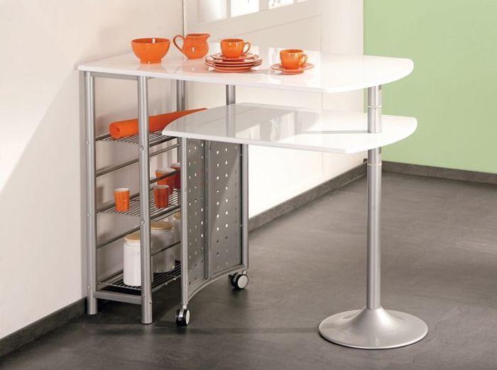12 tables de bar pour tous les go ts elle d coration - Table de cuisine pour studio ...
