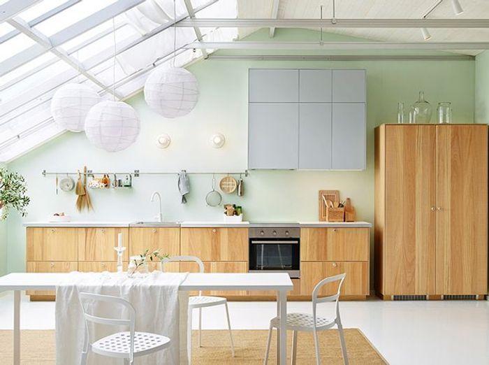 Une cuisine design ouverte