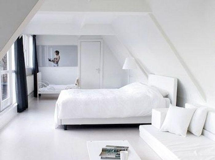 5 intérieurs en blanc pour agrandir votre surface - Elle Décoration