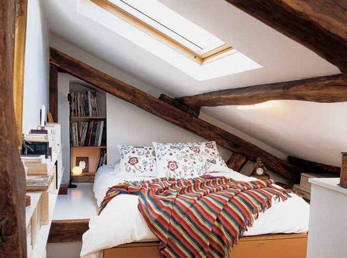 Des chambres id ales pour des petites surfaces elle d coration - Chambre a coucher petite surface ...