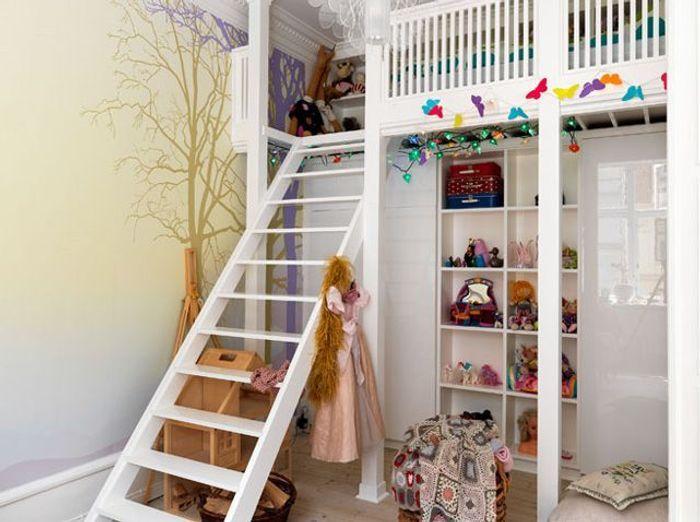 Des chambres id ales pour des petites surfaces elle d coration - Petite chambre comment amenager ...