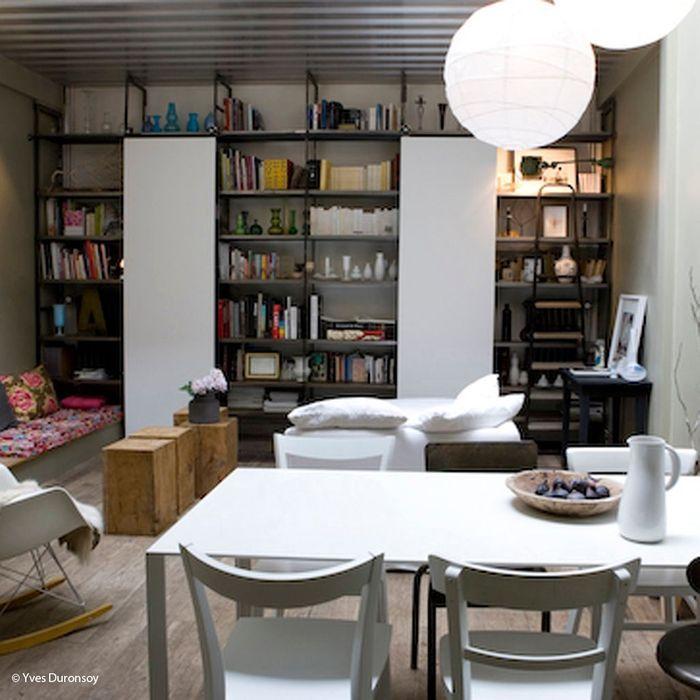 Idee deco salon petite surface amenagement salon salle a manger petit espace chambre enfant - Deco salon petite surface ...