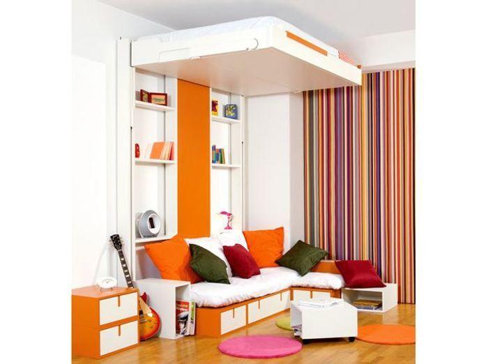 Des meubles astucieux et sympas pour votre studio !  Elle Décoration
