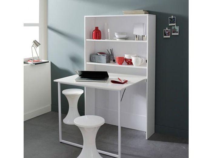 Des meubles astucieux et sympas pour votre studio elle for Armoire avec table escamotable