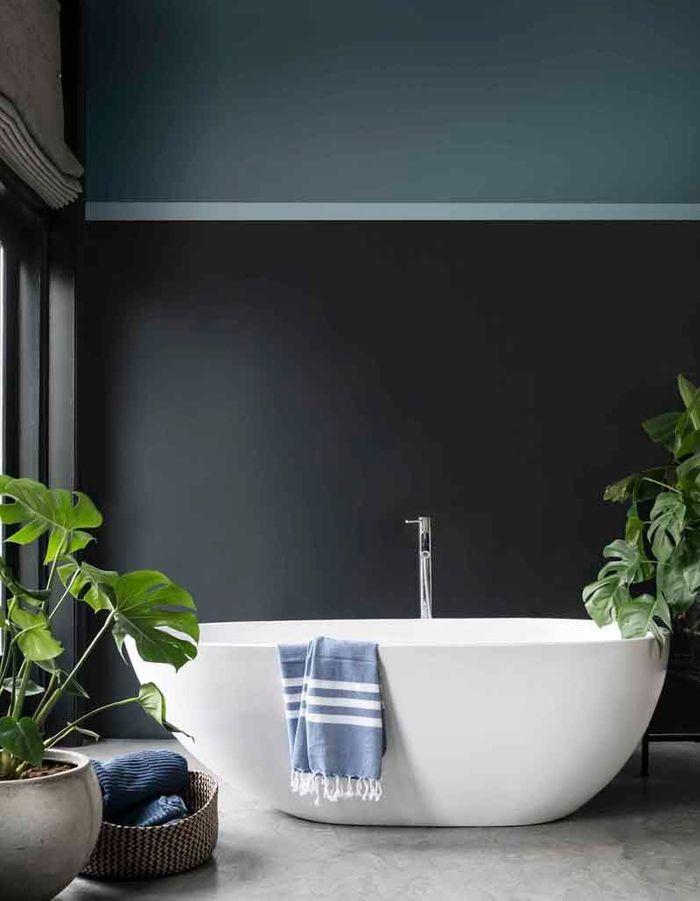 Une salle de bains design zen