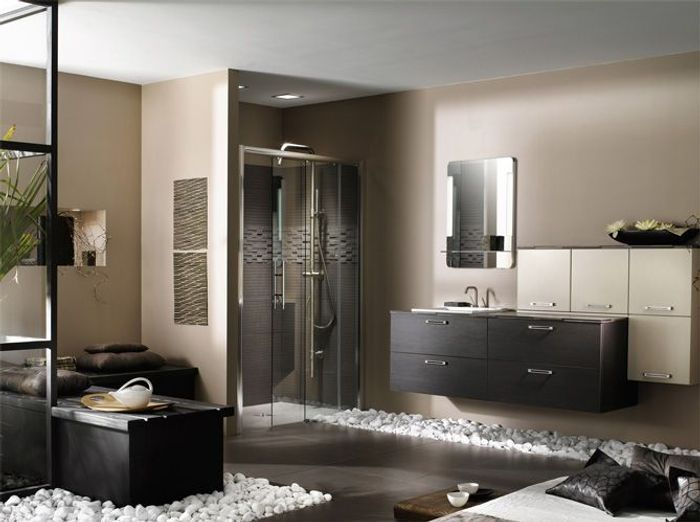 de bonnes id es pour booster la d co de la salle de bains. Black Bedroom Furniture Sets. Home Design Ideas