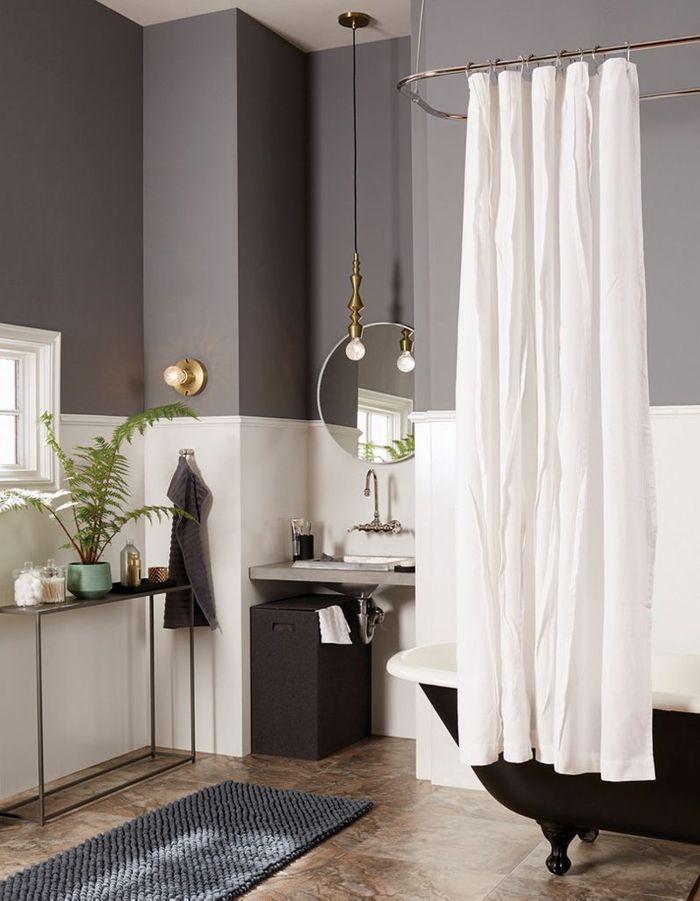 30 id es pour d corer votre salle de bains sans la r nover - Idee salle de bain couleur ...
