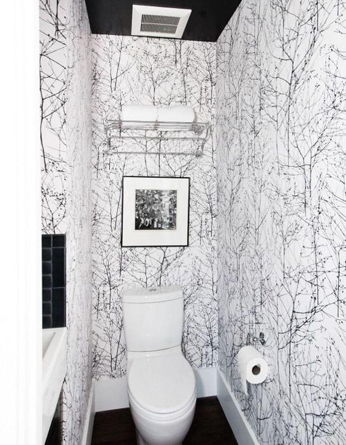 Décorer ses toilettes en forêt enchantée