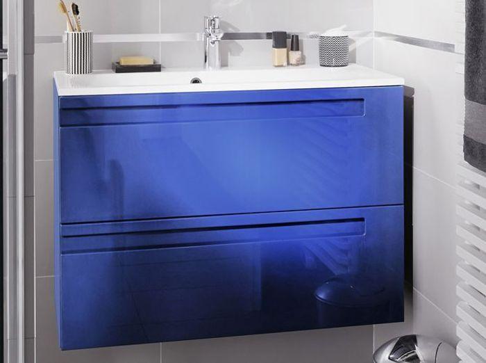 40 meubles pour une petite salle de bains elle d coration - Meuble colore ...