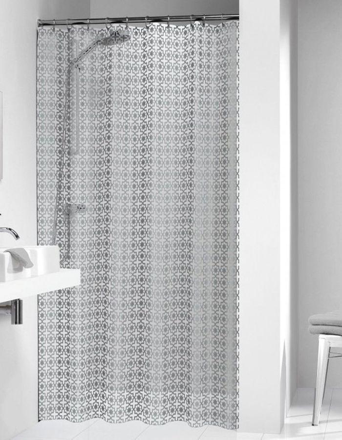 Rideau de douche 15 rideaux de douche pour une salle de bains d co elle d coration - Dimension rideau de douche ...