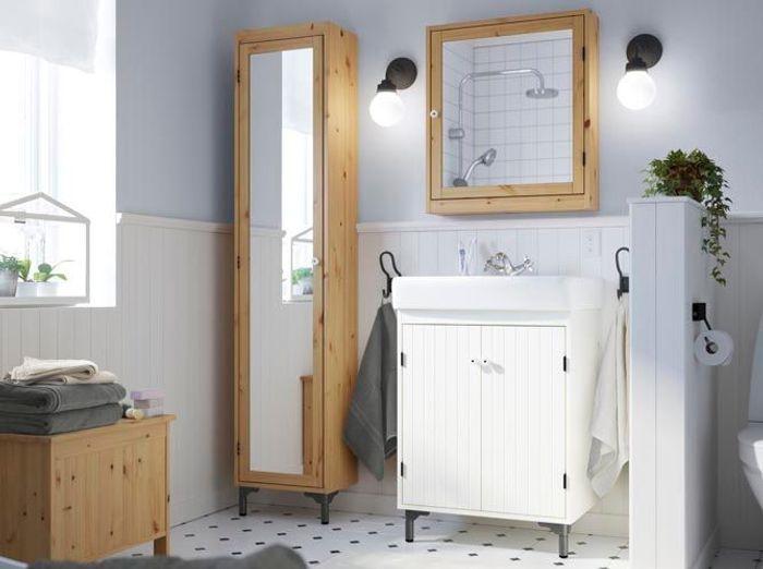 Salle de bains 50 armoires et colonnes pour tout ranger for Armoire pour salle de bain