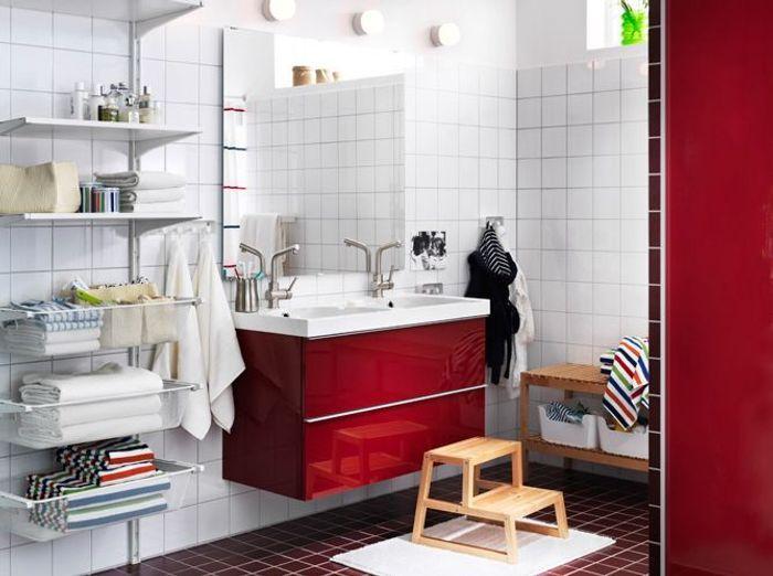 12 meubles de salle de bains pas chers elle d coration - Deco salle de bain pas cher ...