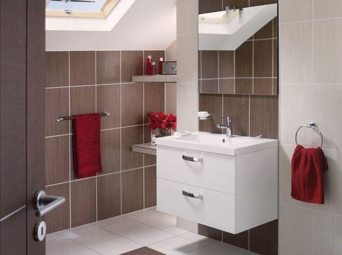 Meubles De Salle De Bains Pas Chers Elle Décoration - Salle de bain design pas cher