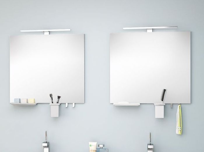 Miroir salle de bain elle d coration - Miroir salle de bain castorama ...