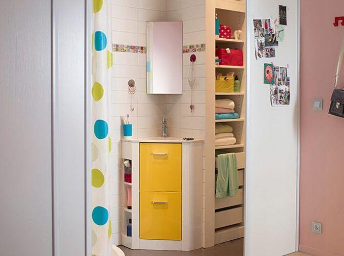 petit meuble salle de bains notre s lection elle. Black Bedroom Furniture Sets. Home Design Ideas