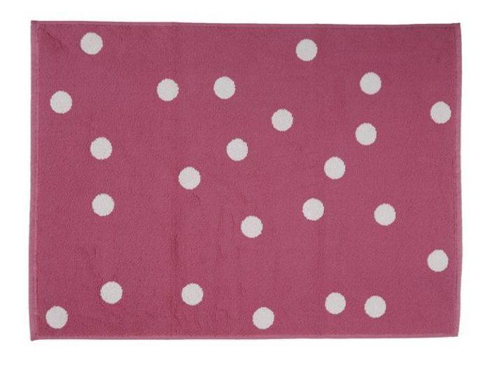14. Le tapis de bain rose