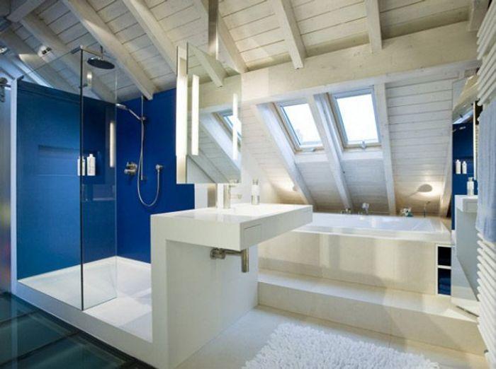 Des belles salles de bains pour r ver elle d coration for Salle de bain 6m2 rectangulaire