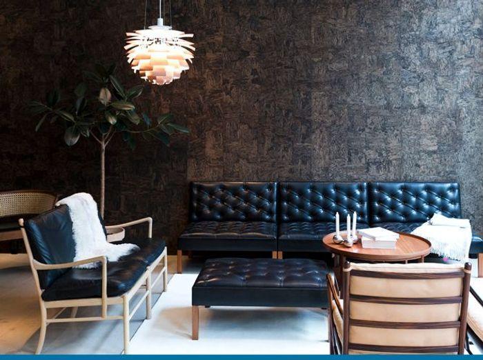 Je veux un salon design elle d coration - Deco salon retro ...