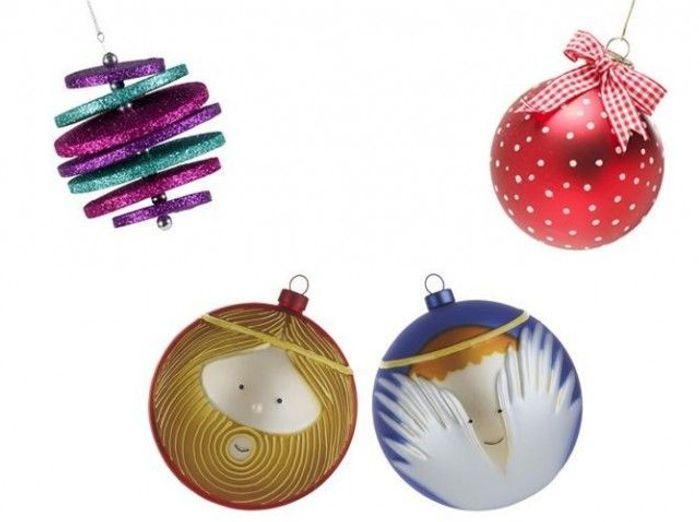 25 boules de Noël originales - Elle Décoration