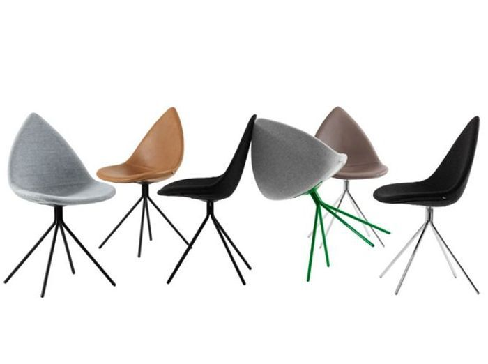 50 chaises design pour un int rieur contemporain elle for Chaises colorees
