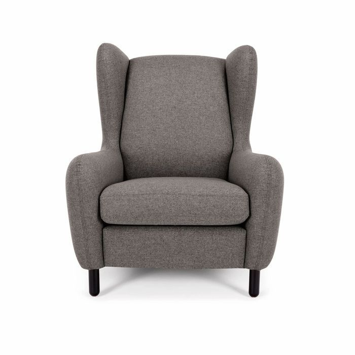 Fauteuil gris made