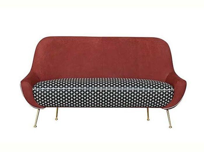Farandole de nouveaux canap s design elle d coration - Canape rouge et noir ...