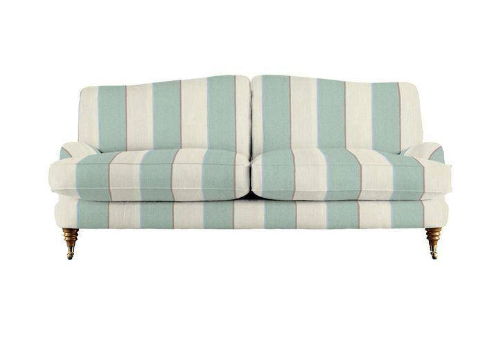 Canapé rayé