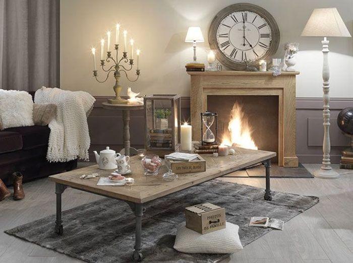 D co douillette pour affronter l 39 hiver elle d coration for Site decoration salon