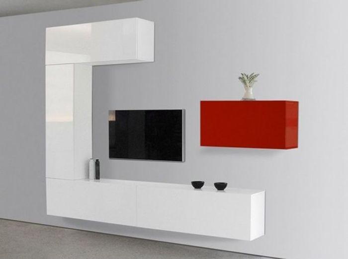 Le meuble tv fait sa star elle d coration - Meuble tv petit espace ...