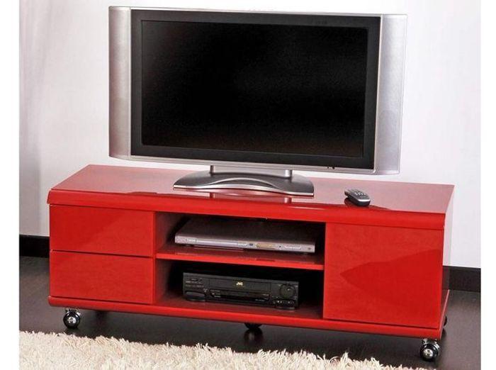 Le meuble tv fait sa star elle d coration for Ikea meuble tv a roulettes