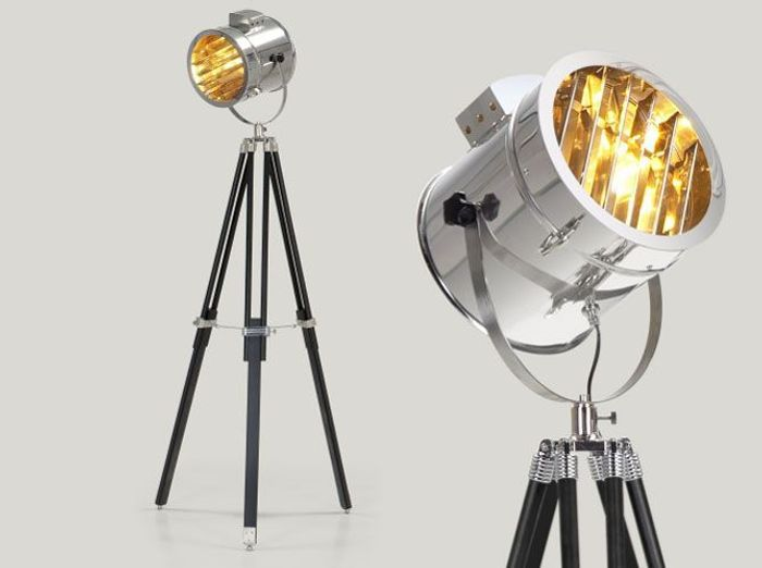 Les lampadaires font leur cinéma