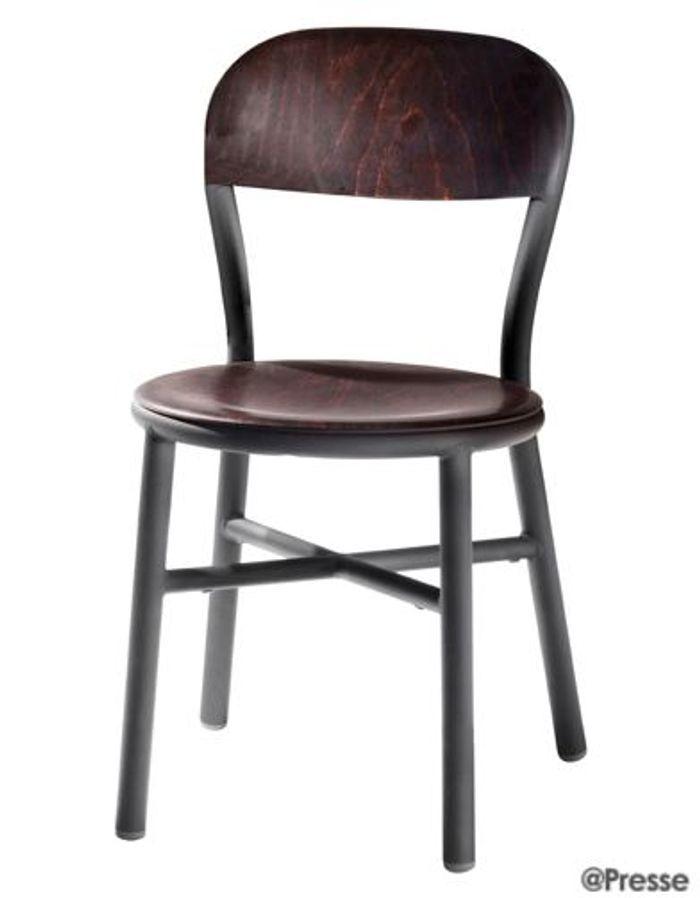 les nouvelles formules de la chaise bistrot elle d coration. Black Bedroom Furniture Sets. Home Design Ideas