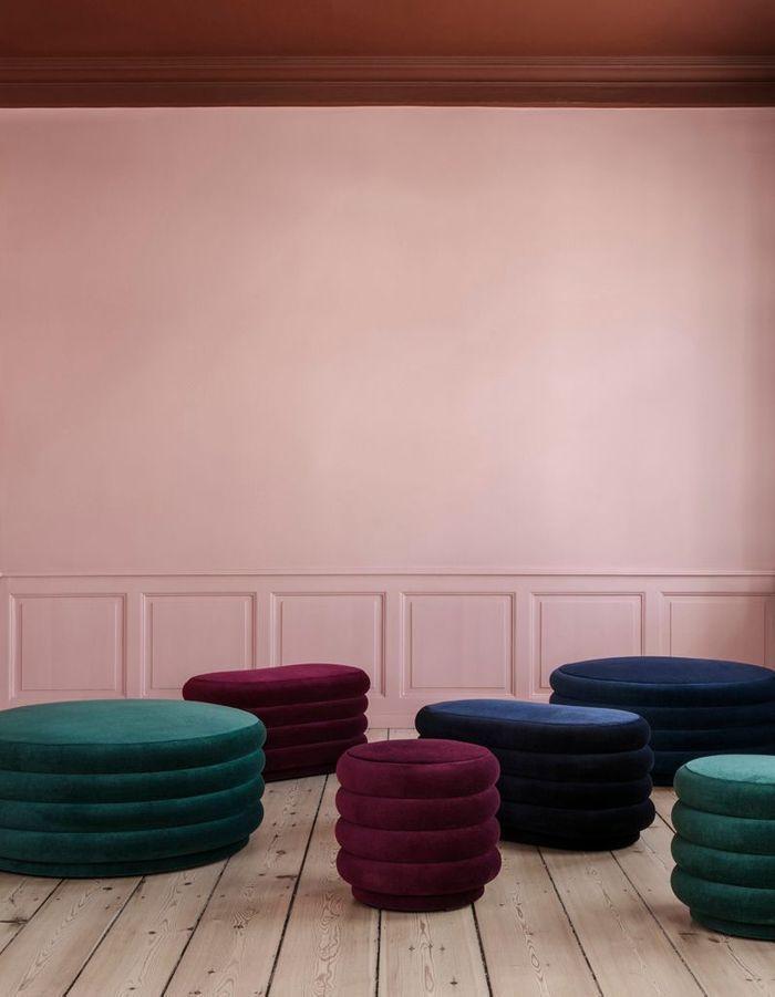 pouf notre shopping de poufs tous les prix elle d coration. Black Bedroom Furniture Sets. Home Design Ideas