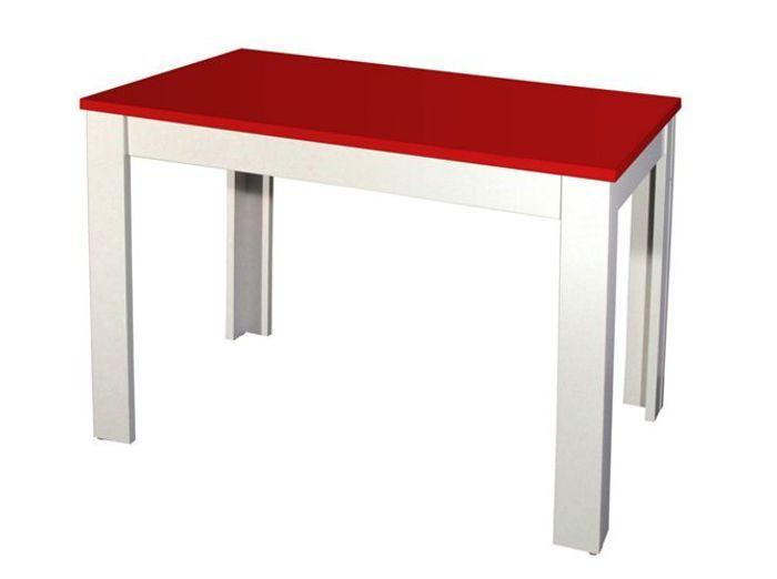 20 tables rouges pour r veiller votre int rieur elle for Table cuisine rouge