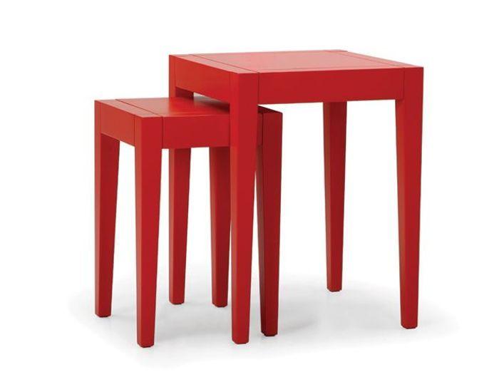 20 tables rouges pour r veiller votre int rieur elle for Objet de decoration rouge