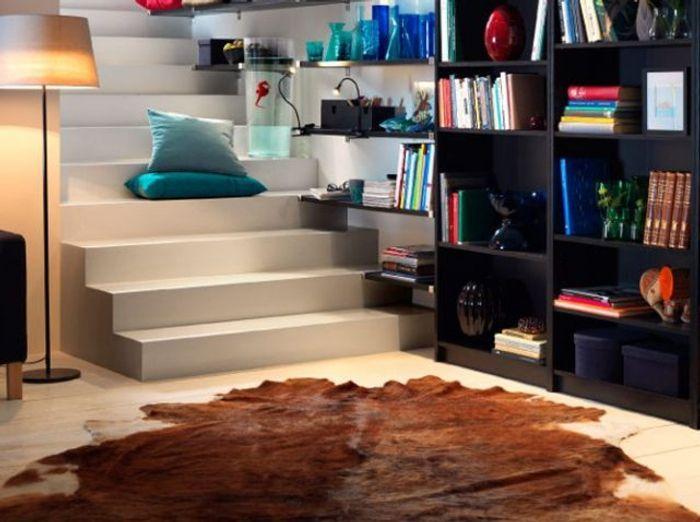 shopping tapis et si on osait la peau de b te elle d coration. Black Bedroom Furniture Sets. Home Design Ideas