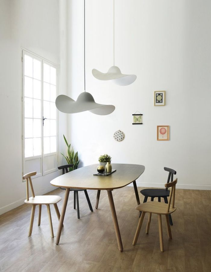 Decoration salle a manger - Idee deco salon scandinave ...