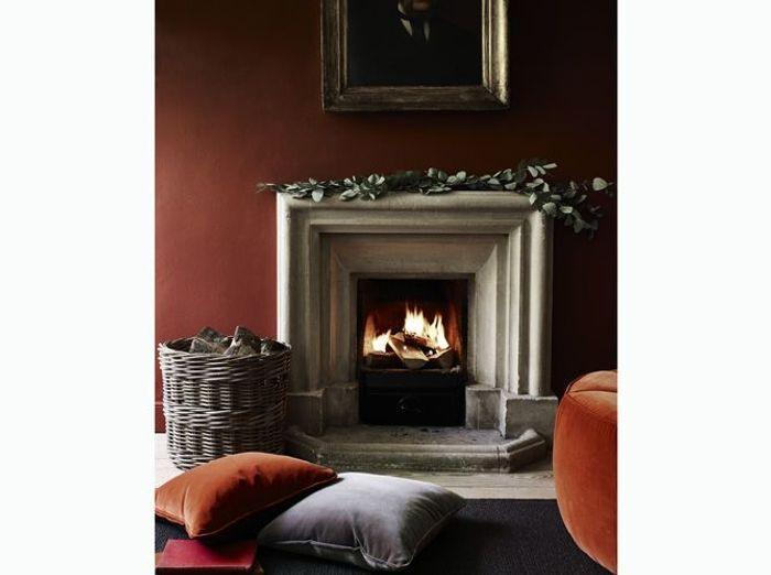Aménagez un espace confortable devant la cheminée