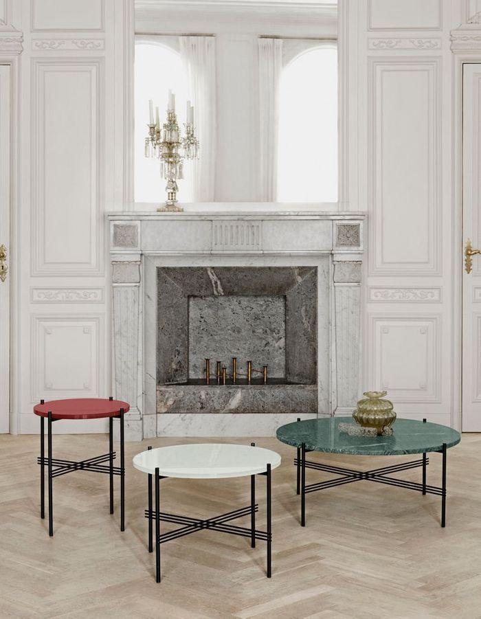 Table basse en marbre Gubi