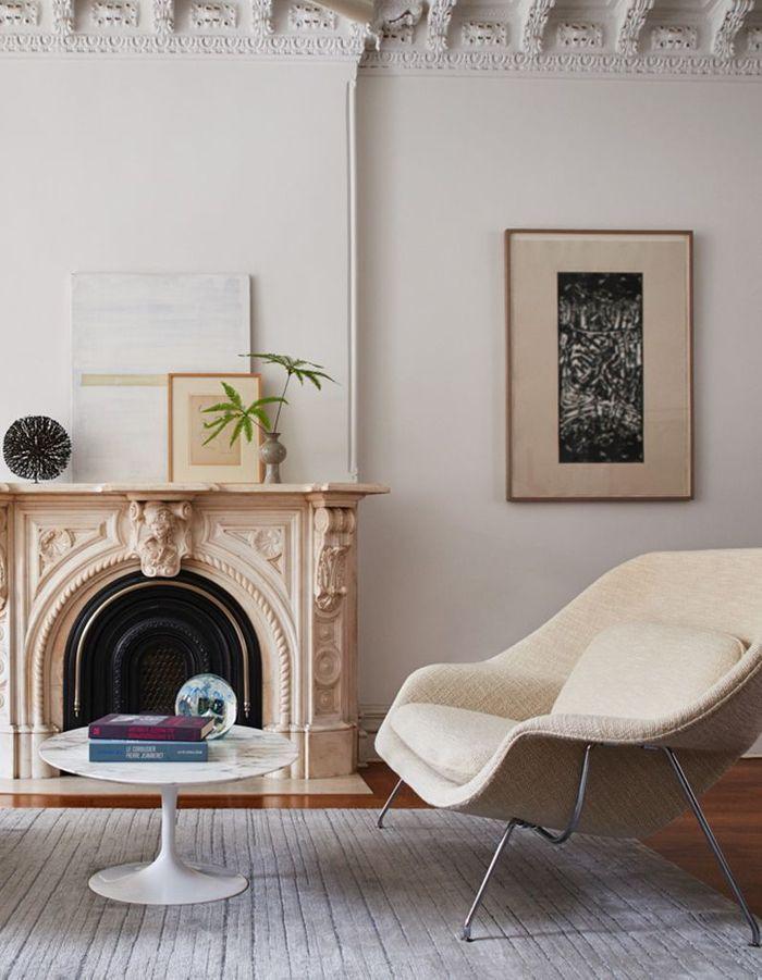Table basse en marbre Knoll
