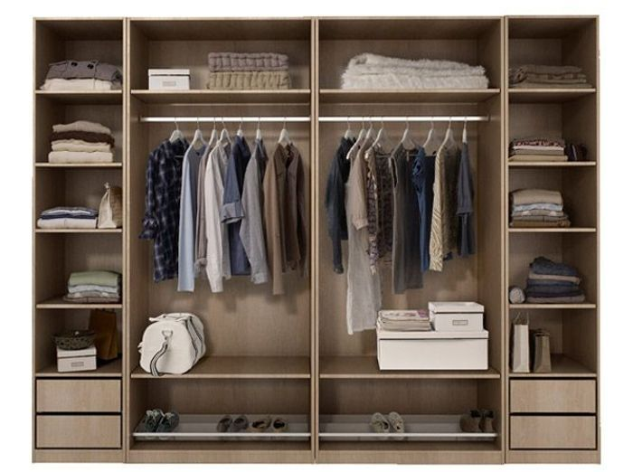 Dressing pas cher nos solutions elle d coration - Ikea amenagement dressing ...