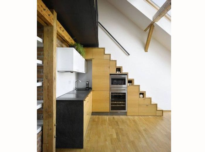 16 id es d co pour ne pas perdre d 39 espace sous l 39 escalier for Amenagement dessous d escalier