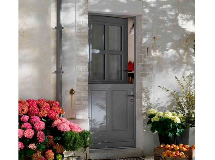 Porte d 39 entr e elle d coration for Double porte entree